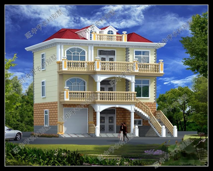新农村别墅自建房设计,新农村别墅设计图