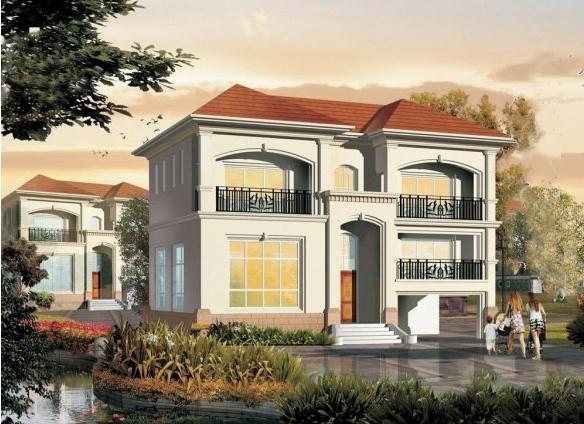 两层经济型新农村别墅自建房图纸