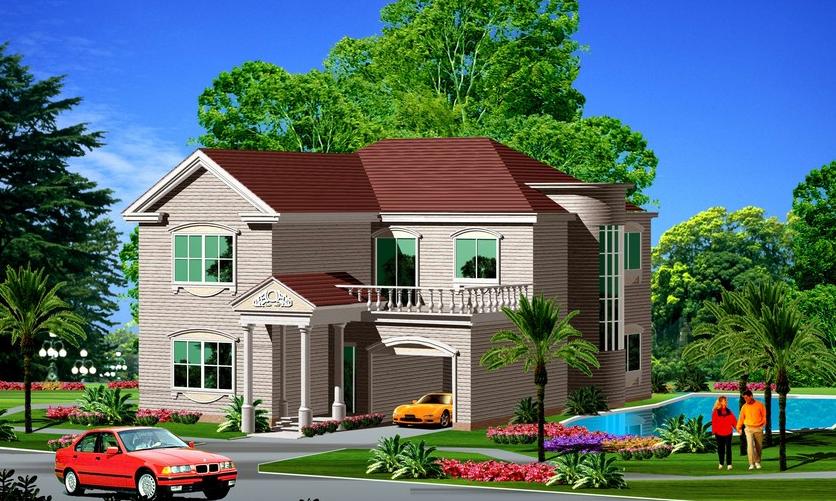 两层新农村别墅自建房设计图纸