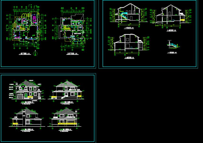 建筑施工图图