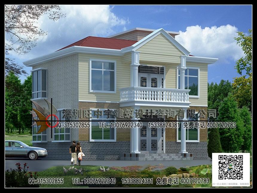 10年前原创两层经济型新农村别墅自建房设计