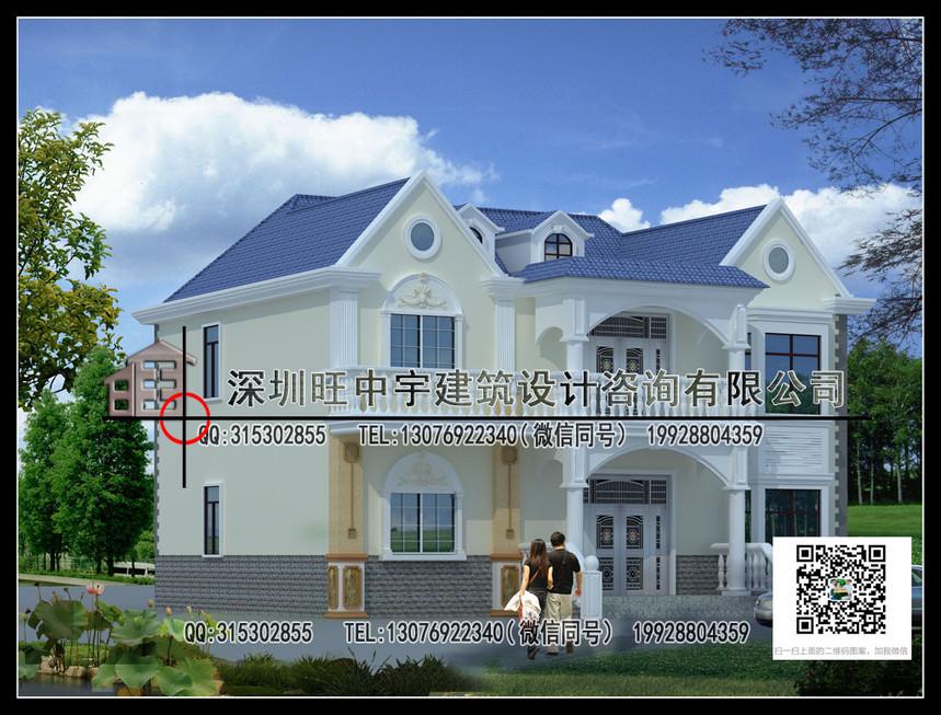 二层新农村别墅自建房-新农村别墅设计图