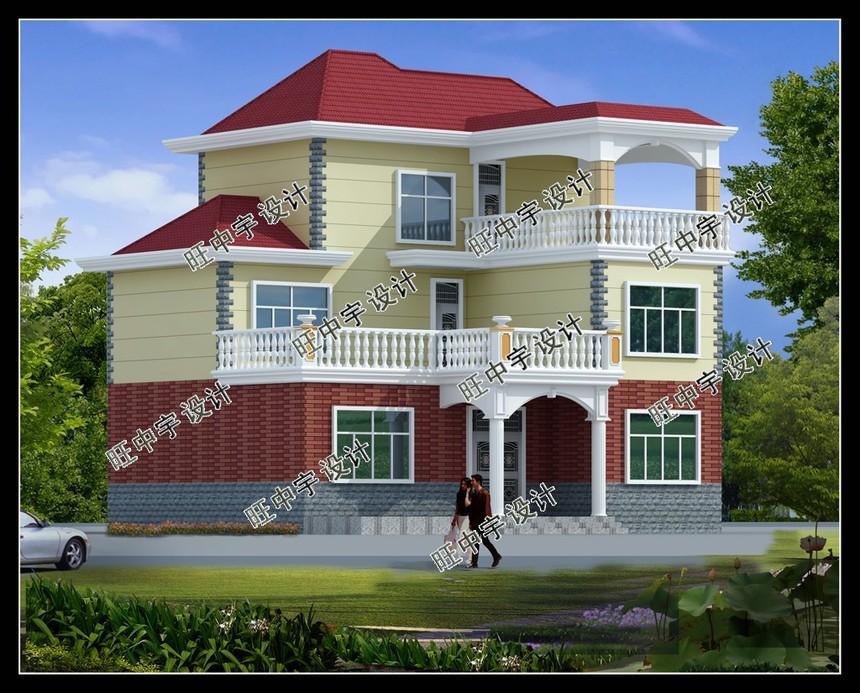 三层实用新农村别墅设计图