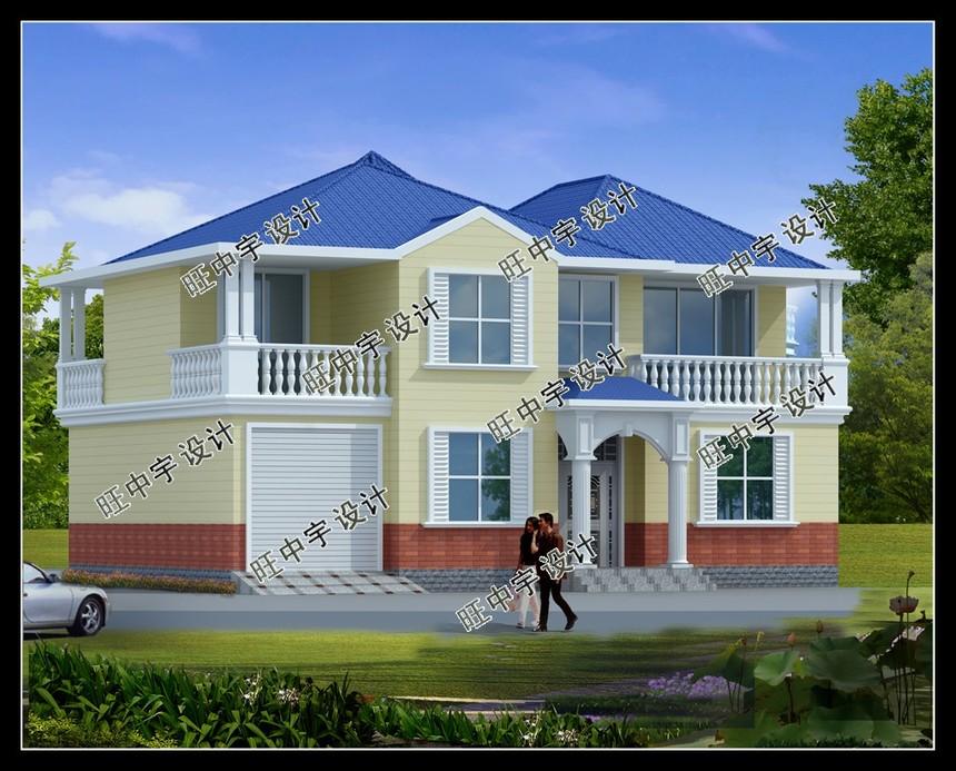 二层紧凑型新农村别墅自建房设计图