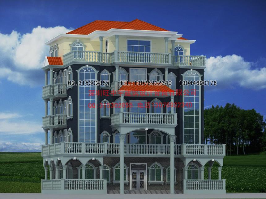 新农村别墅自建房豪华型设计