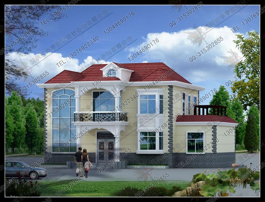 新农村别墅自建房二层设计图