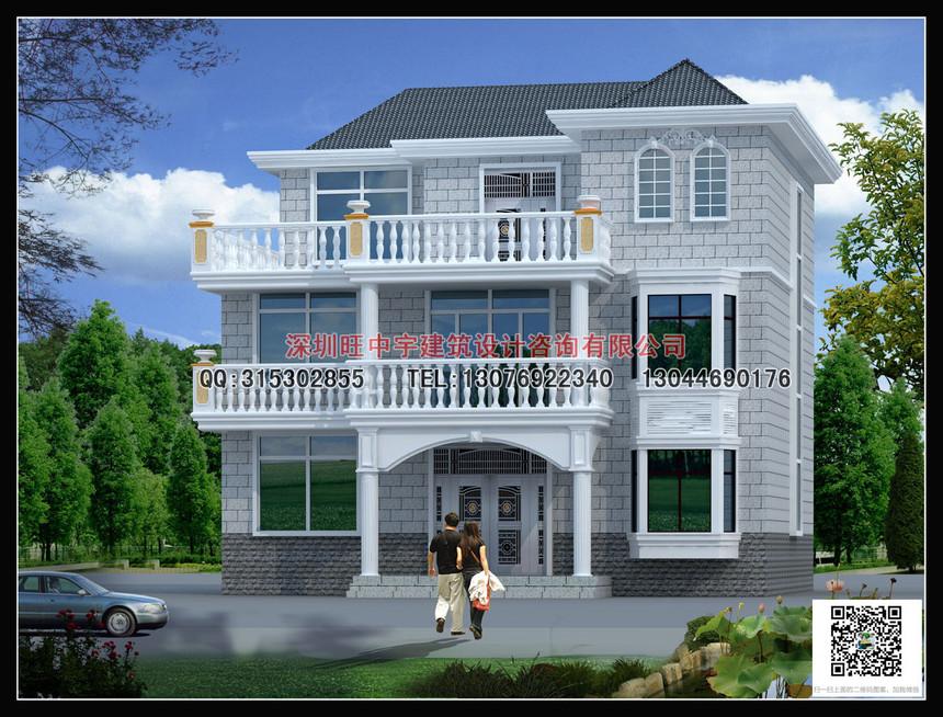 三层新农村别墅自建房设计