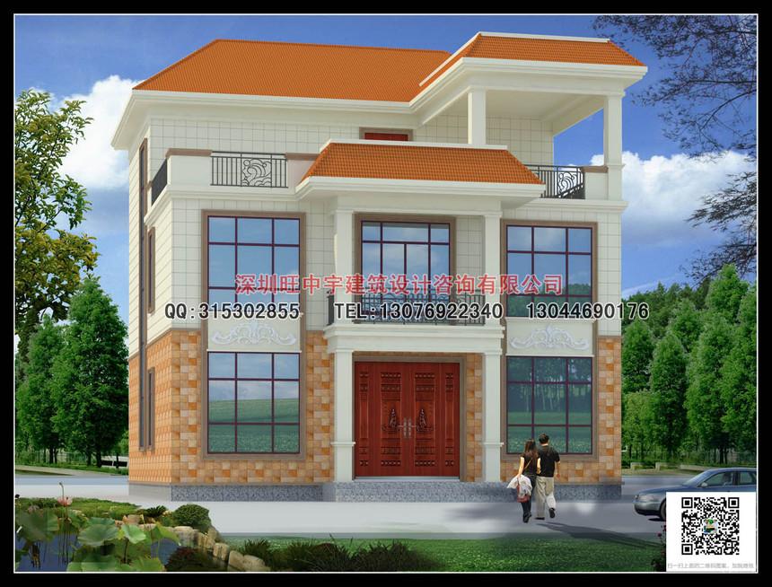 簡約型三層新農村別墅自建房