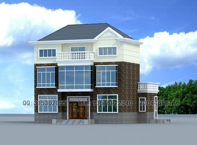 三层经典新农村别墅全套设计