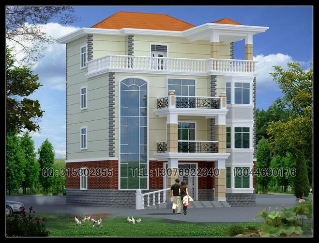 新款四层经典欧式别墅设计