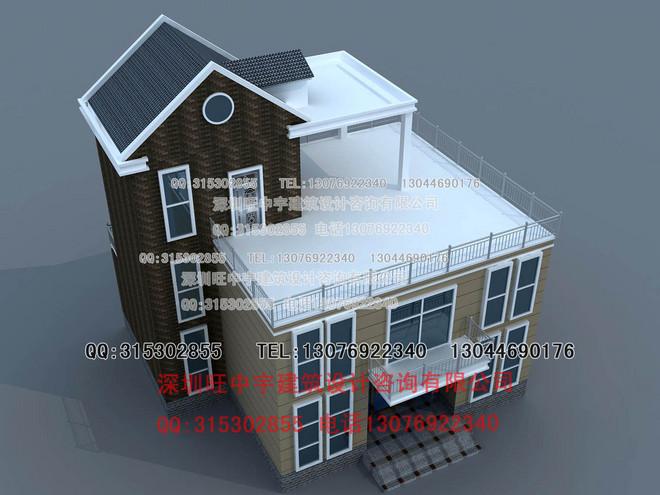 三层实用新农村别墅设计图纸