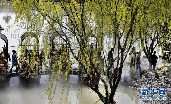 """(春季美丽生态)(1)春意盎然的""""西北小江南"""""""