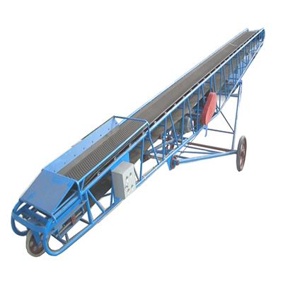 可移動皮帶機_移動式皮帶輸送機_裝卸車皮帶輸送機_可帶升降移動式皮帶輸送機
