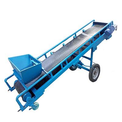 可移动皮带机_移动式皮带输送机_装卸车皮带输送机_可带升降移动式皮带输送机
