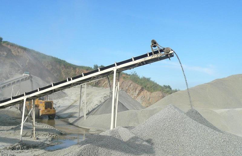 砂石厂皮带输送机