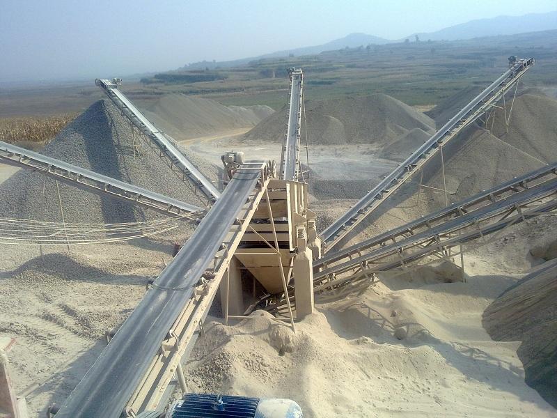 矿用皮带机生产线