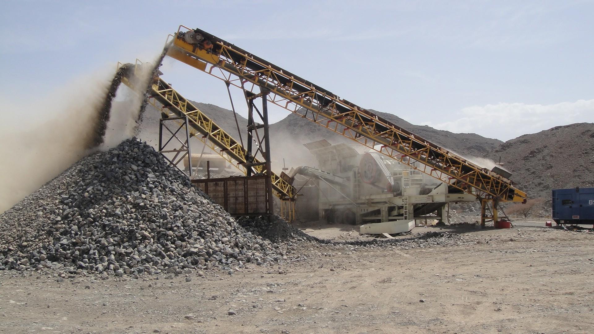 砂石皮带输送机生产线