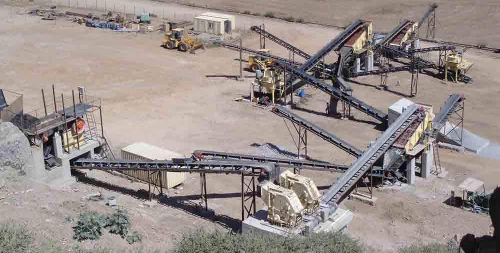 制砂生产线皮带输送机
