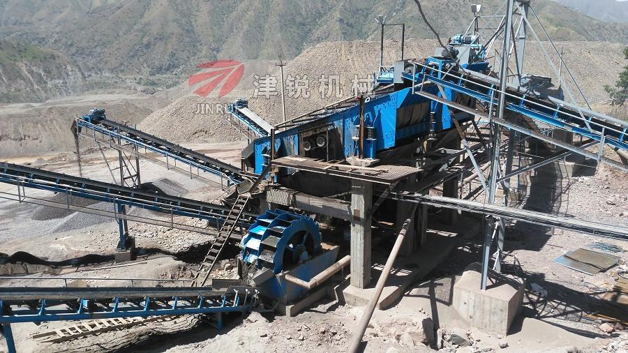 津銳機械廠在國外砂石生產線的配套設備