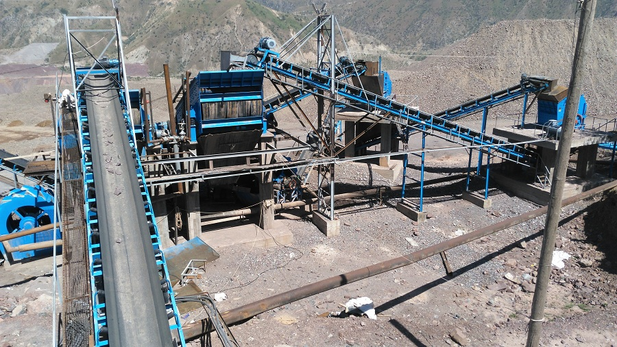 时产300吨砂石生产线配套设备