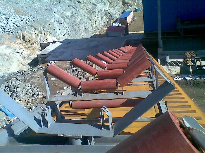 皮带输送机在选矿厂生产线的应用