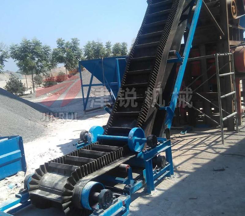 移动式砂石皮带输送机设备