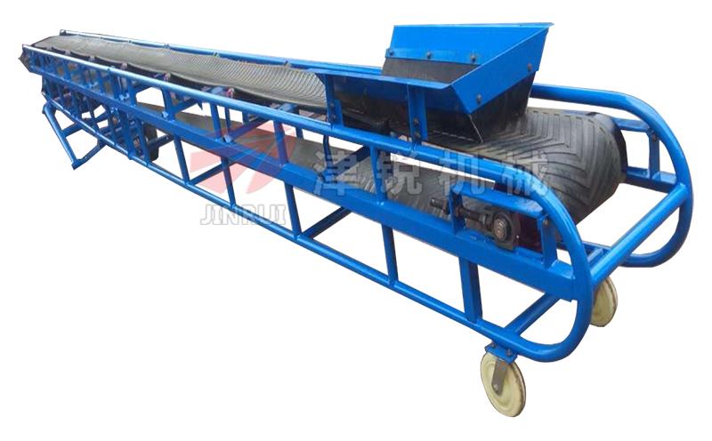 移动式皮带输送机整机
