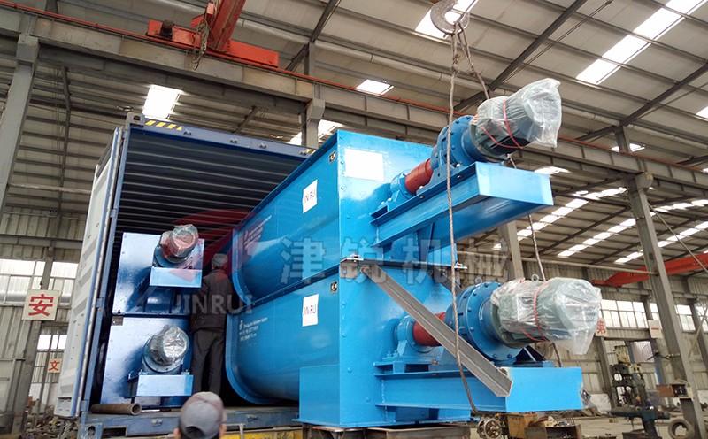 LS型螺旋输送机装车发货