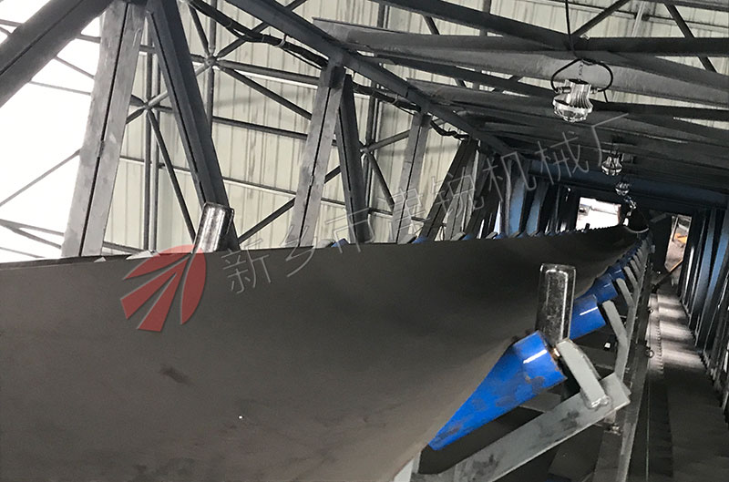 100米长TD75带式输送机