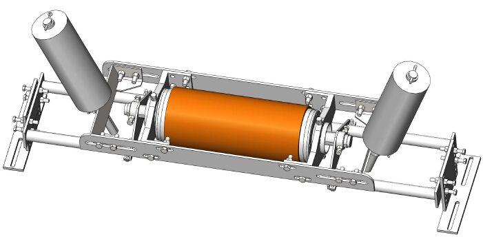 皮帶機自移式矯正器 自動糾偏裝置