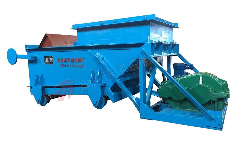 2015年越南客户采购的2台K型往复式给煤机