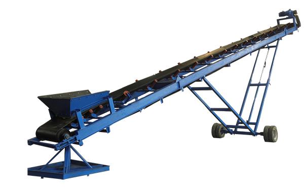 移动式皮带输送机应用于短途输送,一般在化工厂、矿山生产线等行业广泛使用