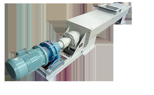 LS螺旋输送机的电机驱动可以用直连式,也可以采用链条连接式