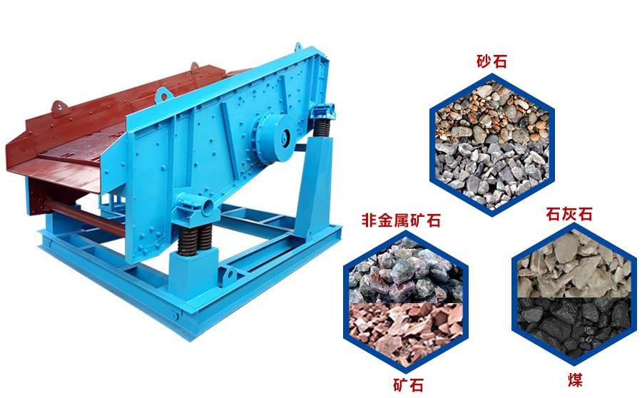 圆振动筛可以筛分的物料很多,比如碎石、砂石、煤炭、原煤、焦炭、矿石、石灰石等等
