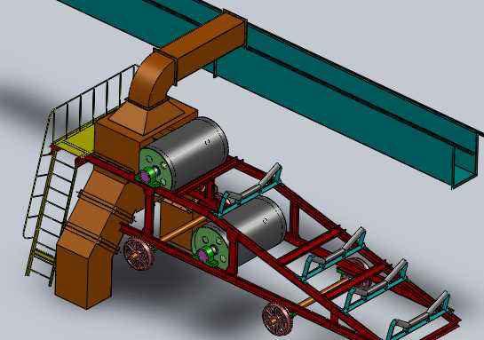 双驱动重型卸料车