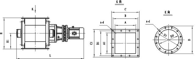 叶轮给料机产品结构