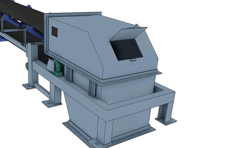 皮帶輸送機設計方案