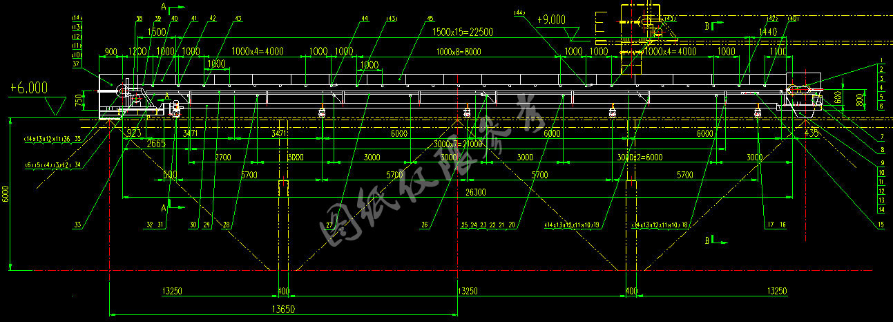 双向带式输送机参考图纸