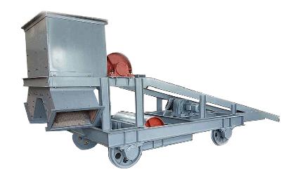 皮带输送机卸料小车