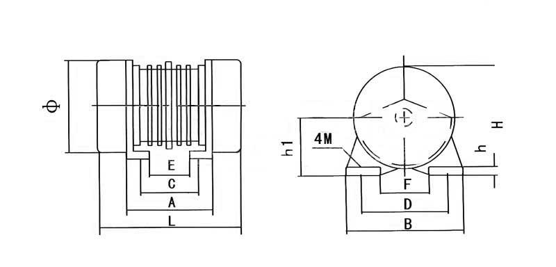 YZO振动电机选型-规格-型号-参数对照表