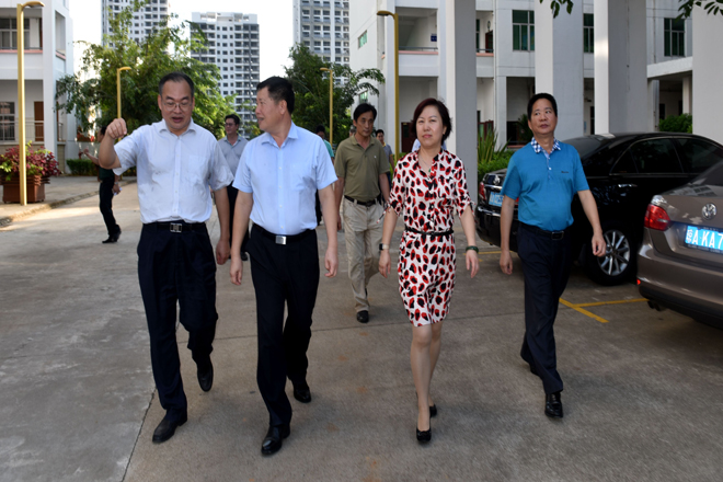 省交通运输厅厅长林东、副厅长张姝为莅临学校指导工作.jpg