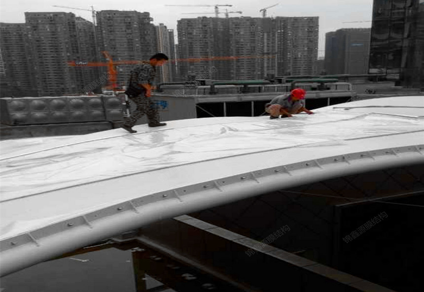 ETFE膜结构施工