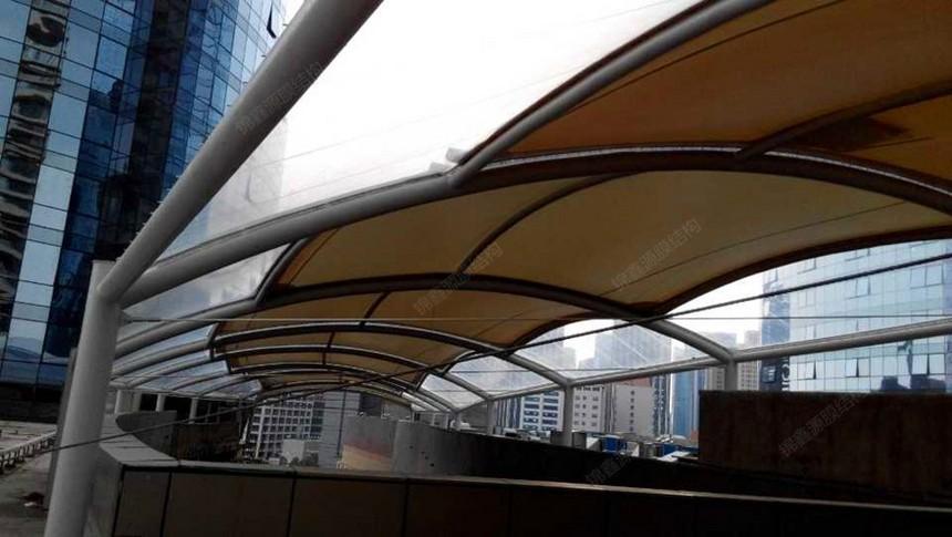 ETFE膜结构商业街