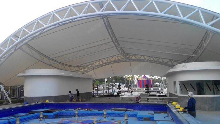 游泳池膜结构-锦鑫源膜结构