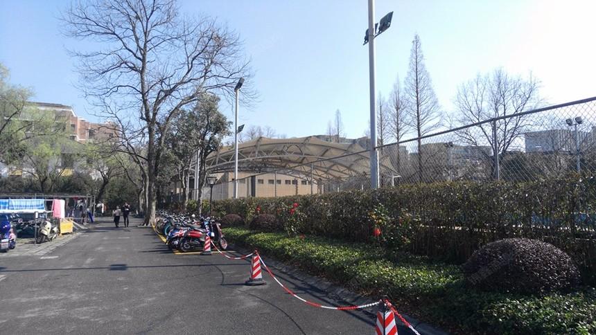 杭州游泳池膜结构