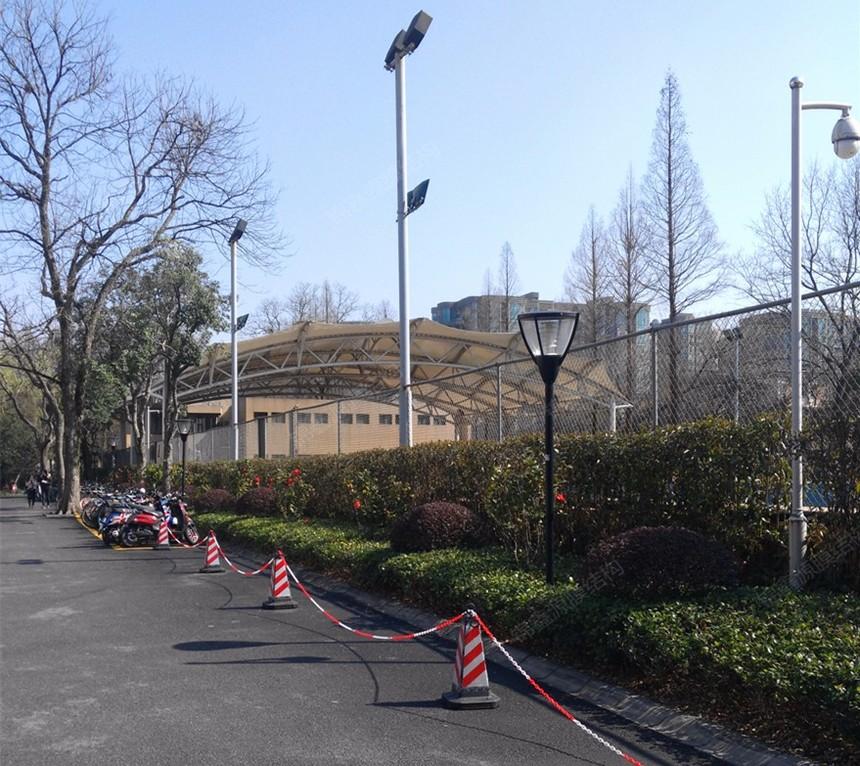 浙江大学游泳池膜结构