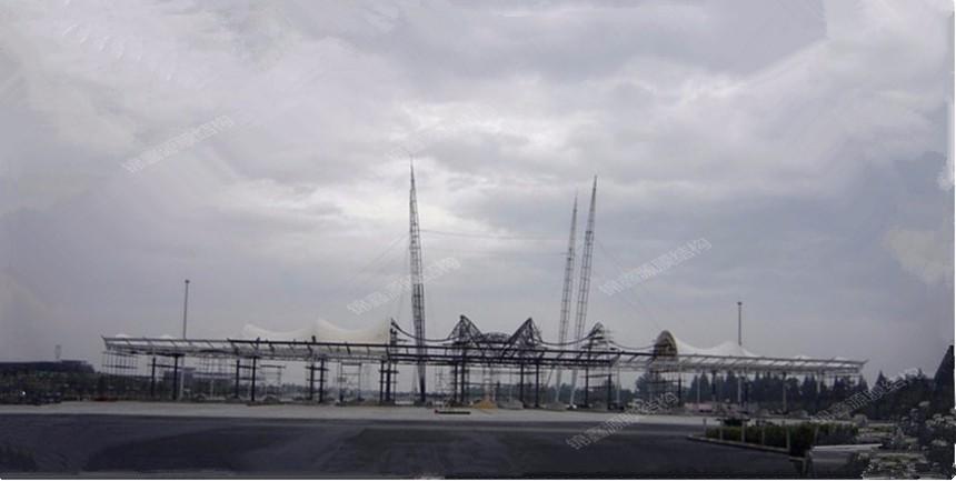 江苏膜结构收费站