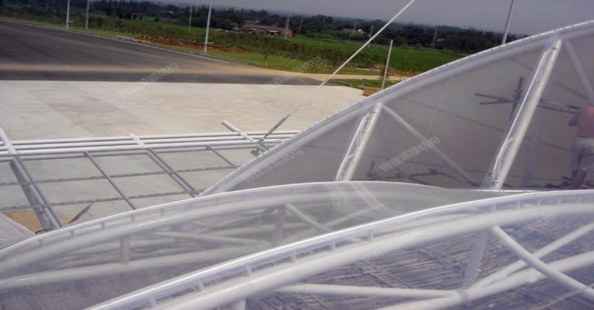 南京ETFE膜结构收费站