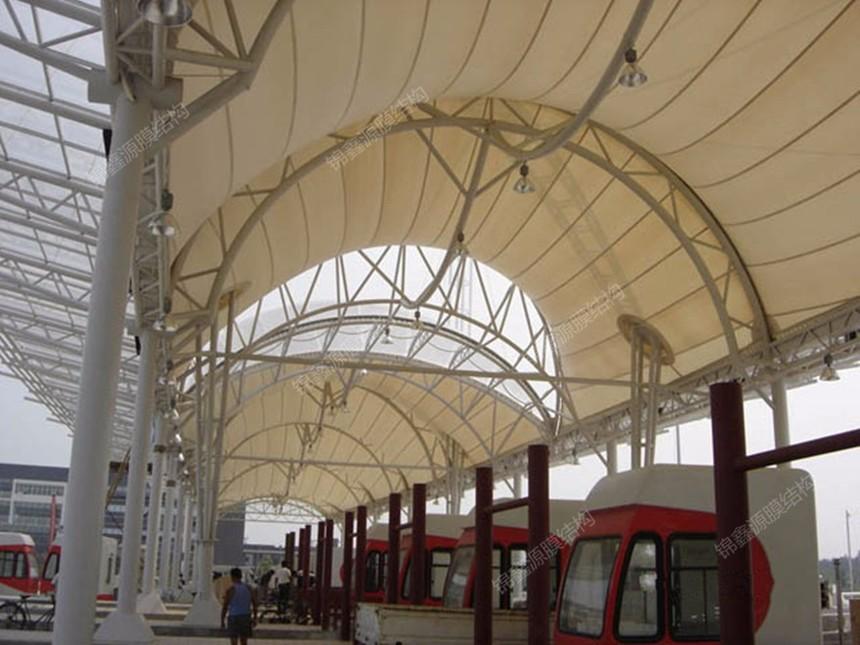 江苏PTFE膜结构收费站
