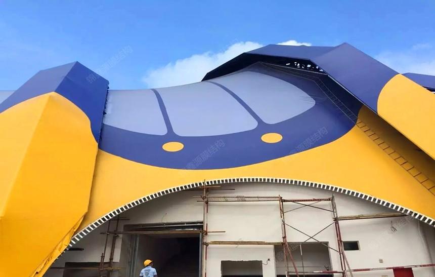 珠海长隆马戏团膜结构